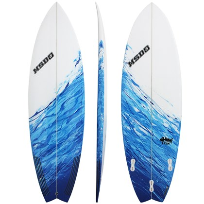 Prancha de Surf MSD Surfboards Fish 5.11