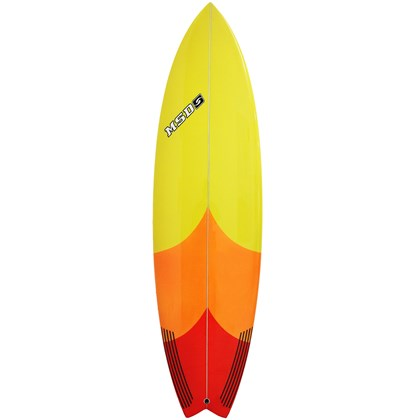 Prancha de Surf MSD Surfboards Fish 6.4