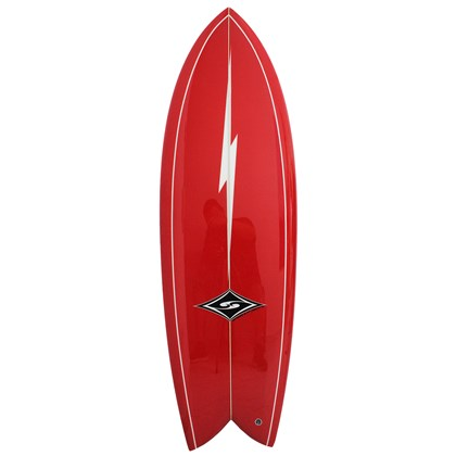 Prancha de Surf MSD Surfboards Fish Retrô Biquilha 5.10