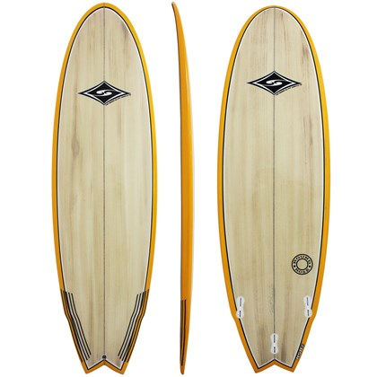 Prancha de Surf MSD Surfboards Round Nose 6.2