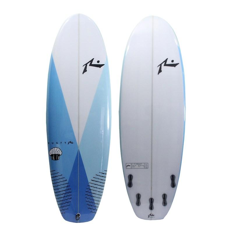 Prancha de Surf Rusty Muffin Top 5.8 FCS 2 Azul