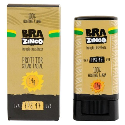 Protetor Solar Facial Brazinco FPS 47
