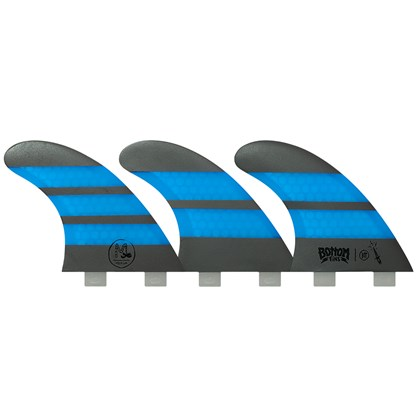 Quilha Bottom Fins BTT Medium Design Azul