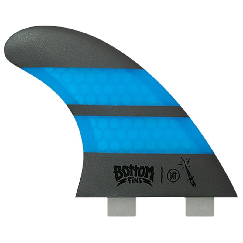 Quilha Bottom Fins BTT Medium Design Azul