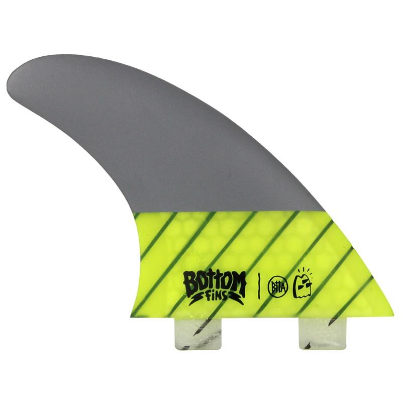 Quilha Bottom Fins BTTA Carbon Verde Medium