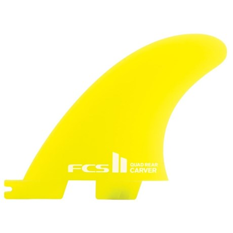 Quilha FCS 2 Carver Neo Glass Quad Rear
