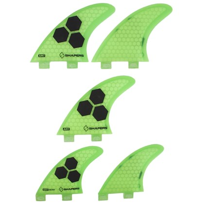 Quilha Shapers Fins AM-1 Tri-Quad Core Lite Medium