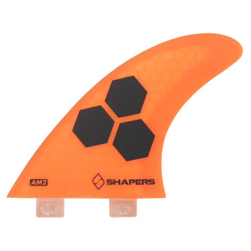 Quilha Shapers Fins AM-2 Tri-Quad Large Orange