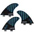 QUILHA SHAPERS FINS ASHER PACEY 2 LARGE