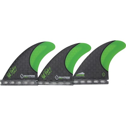 Quilha Shapers Fins Matt Banting MB-1 Carbon Stealth