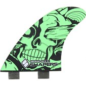 QUILHA SHAPERS FINS SKS-5 CARBON STEALTH MEDIUM