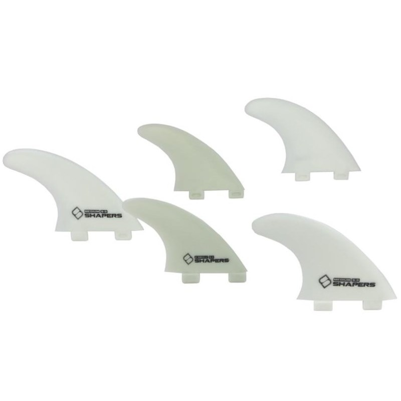 QUILHA SHAPERS FINS SQ-5 FIBRE FLEX