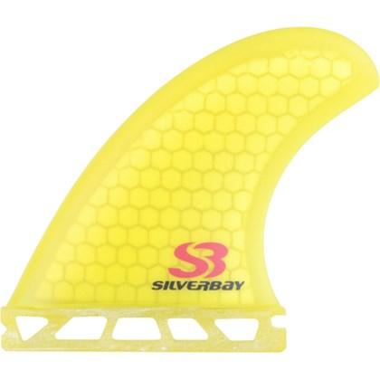 Quilha Silver Bay DT SB4 Quadriquilha Matt Honey Amarela