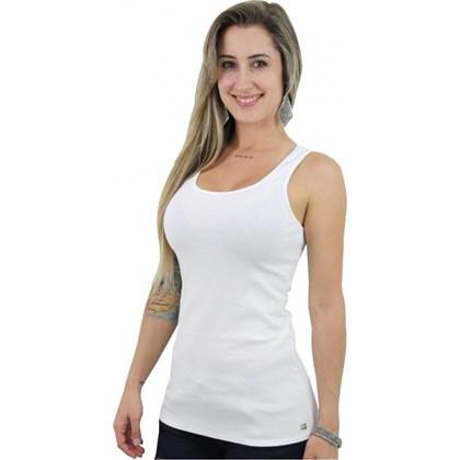 REGATA HANG LOOSE FIRST RIB FEMININA BRANCA ... 69566620982