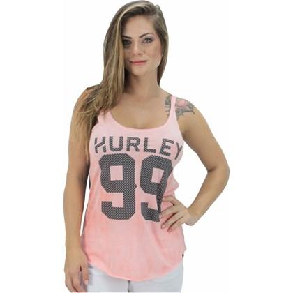 REGATA HURLEY ESPECIAL 99 FEMININA CORAL E CINZA