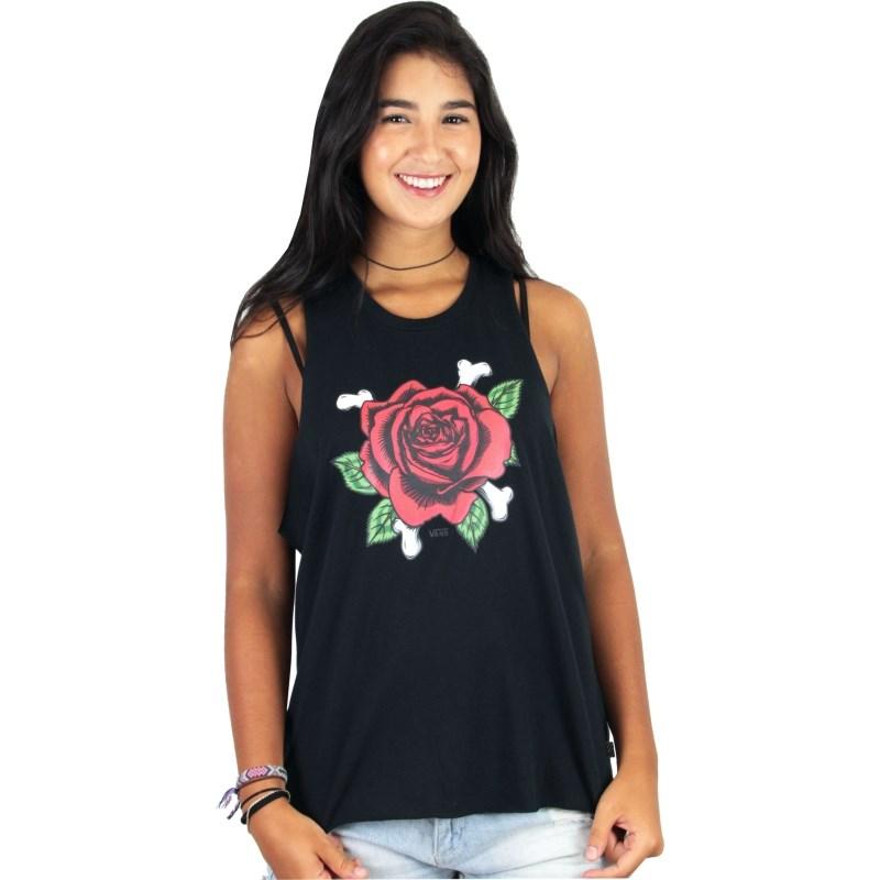 Regata Vans Feminina Rosie Bone Black