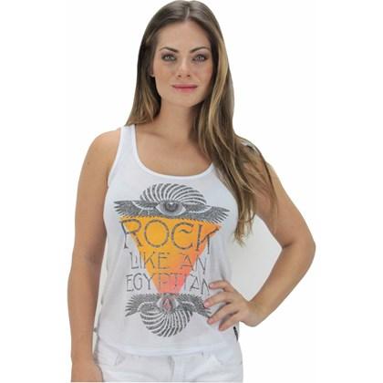 REGATA VOLCOM ROCK LIKE FEMININA BRANCA