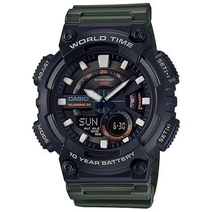 Relógio Casio AEQ-110W-3AVDF