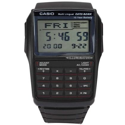 dc06201f45e Relógio Casio Data Bank Calculadora ...