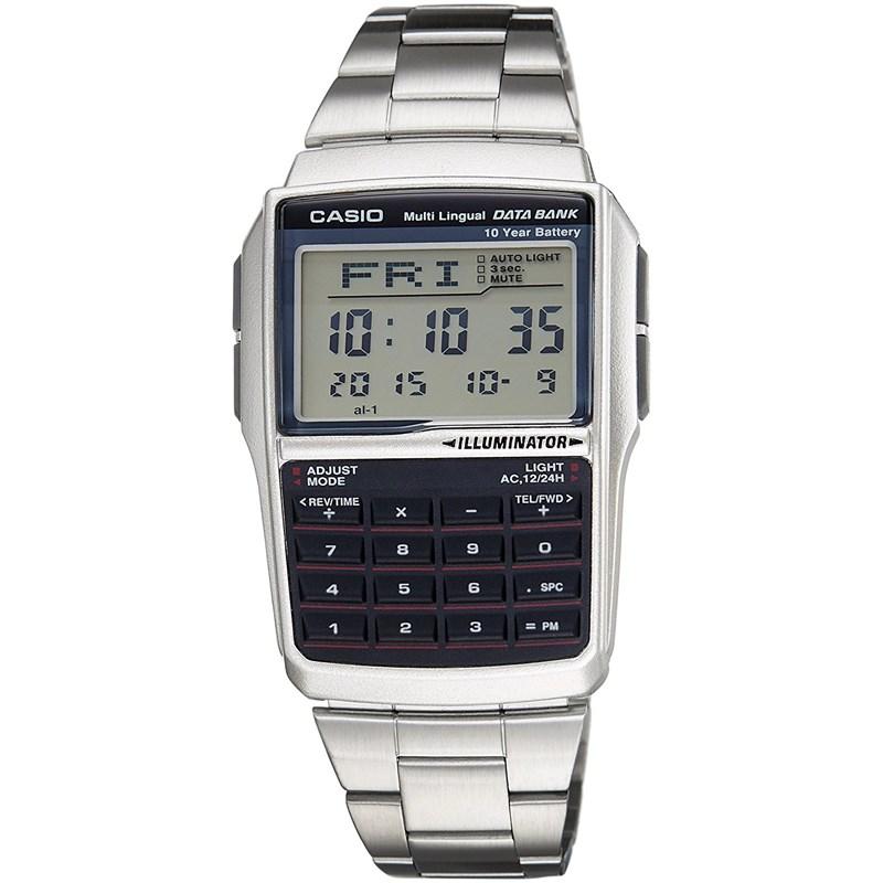 Relógio Casio Masculino Data Bank DBC-32D-1ADF