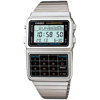 Relógio Casio Masculino Data Bank DBC-611-1DF