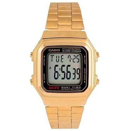 28fa0660304 Relógio Casio Vintage AW-48HE-9AVDF Fundo Dourado - SurfAlive