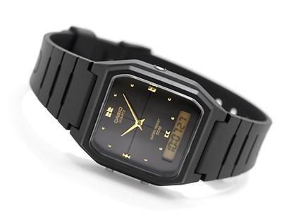 Relógio Casio Vintage AW-48HE-1AVDF Fundo Preto