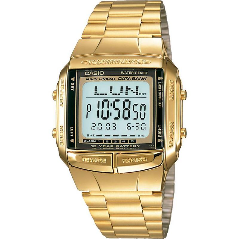 Relógio Casio Vintage DB-360G-9ADF Data Bank