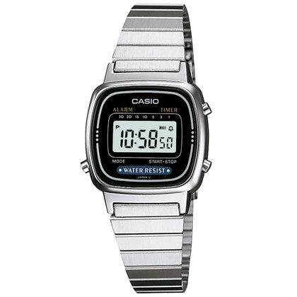 Relógio Casio Vintage LA670WA-1DF Feminino