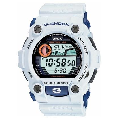 RELÓGIO G-SHOCK G-7900-7DR BIG CASE BRANCO