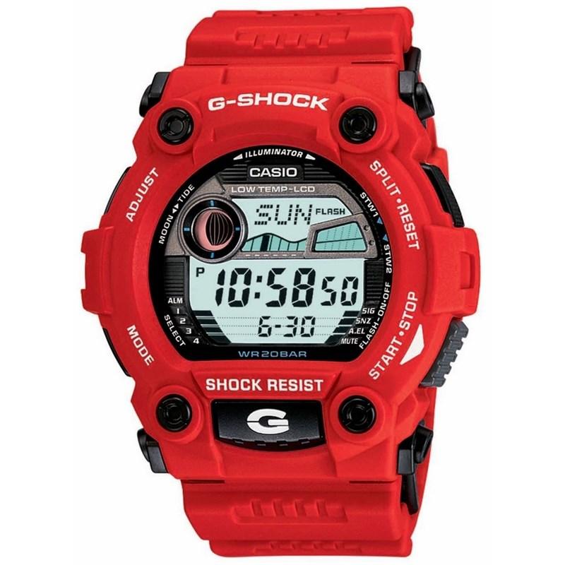 RELÓGIO G-SHOCK G-7900A-4DR BIG CASE SERIES VERMELHO