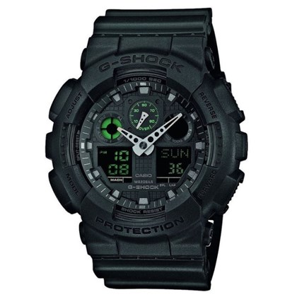 Relógio G-Shock GA-100MB-1ADR Military Black