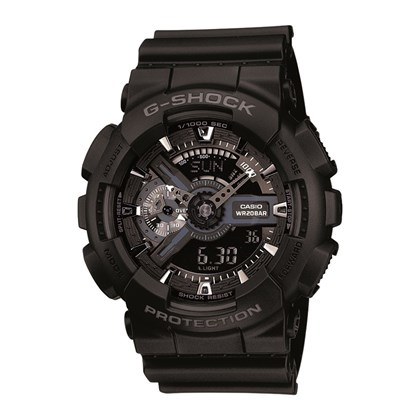 RELÓGIO G-SHOCK GA-110-1BDR BIG CASE SERIES
