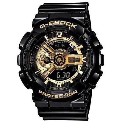 RELÓGIO G-SHOCK GA-110GB-1ADR BIG CASE BLACK GOLD
