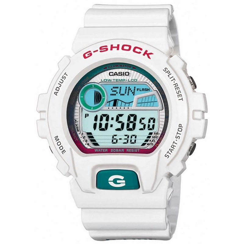 RELÓGIO G-SHOCK GLX-6900-7DR G-LIDE SERIES BRANCO