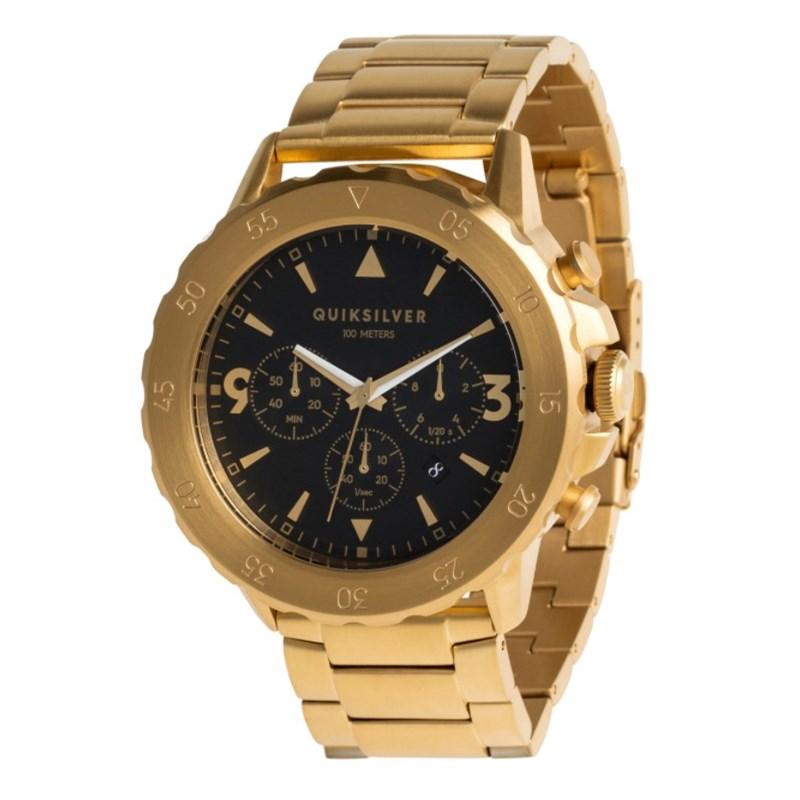 c518b573941 Relógio Quiksilver B52 Black Gold Importado - SurfAlive