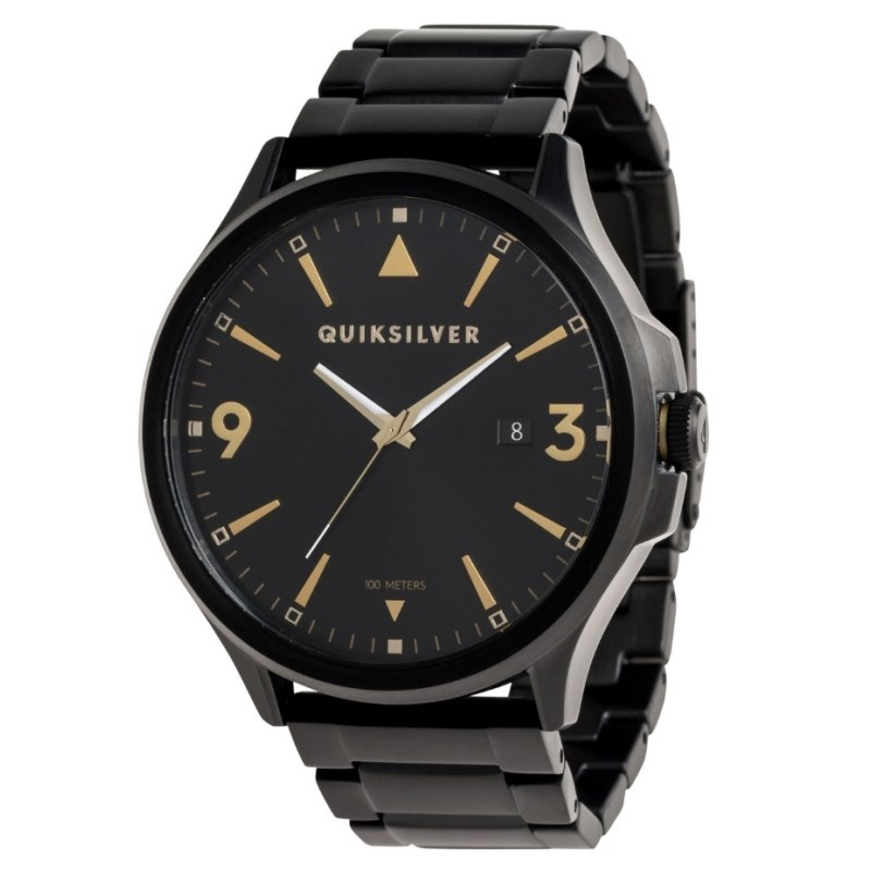 63db0e509089f Relógio Quiksilver Beluka Importado Black Gold - Surf Alive