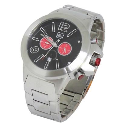 33546d3ee1cd6 Relógio Quiksilver Kaspian Silver Black Relógio Quiksilver Kaspian Silver  Black