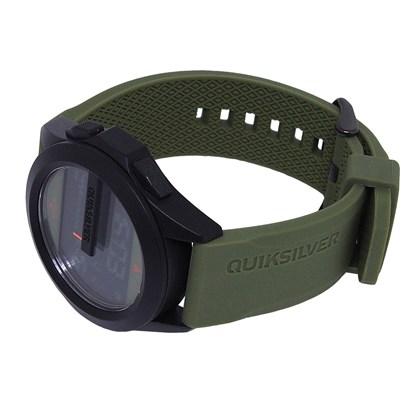 Relógio Quiksilver The Drone Kaki Gun Kaki