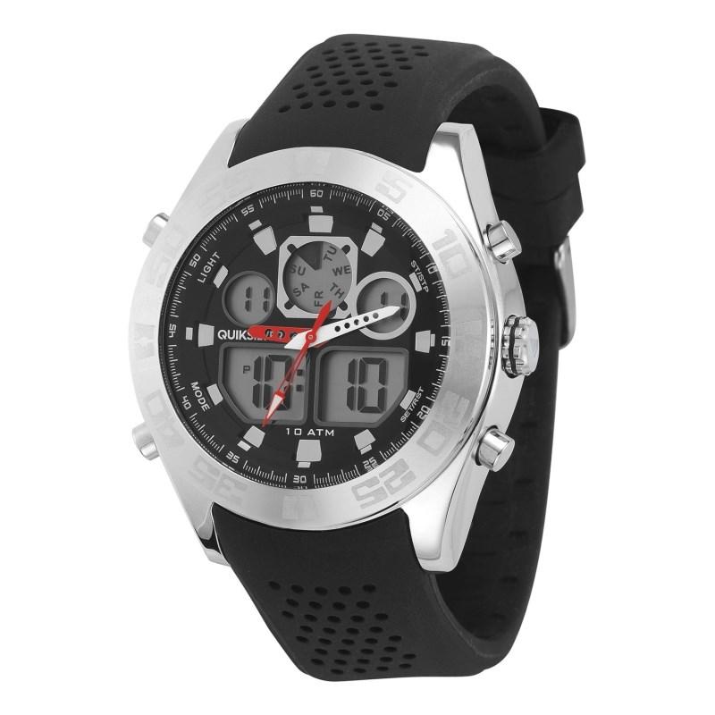 Relógio Quiksilver The Fifty50 Metal Importado