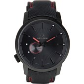 Relógio Rip Curl Detroit Mick Fanning Midnight Leather Black