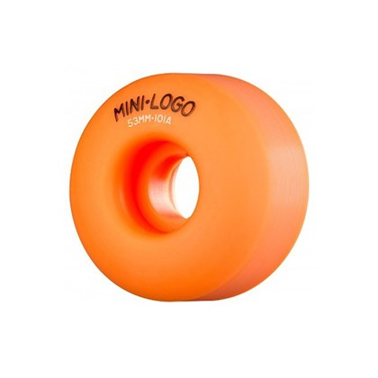 RODA MINI LOGO C-CUT 52mm 101a ORANGE