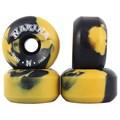 Roda Narina Rajada Preto e Amarelo 58mm 100a