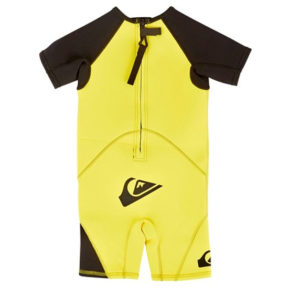 Short John Infantil Quiksilver Syncro 1.5 mm Lime Black