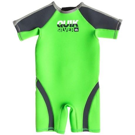 Short John Infantil Quiksilver Syncro 1.5 mm Verde