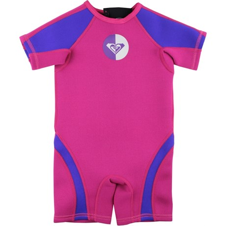 Short John Infantil Roxy Syncro Toddler 1.5mm Pink
