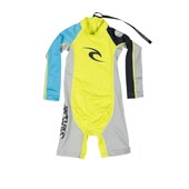 Short John Lycra Rip Curl Kids Spring Yellow