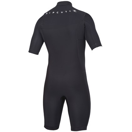 Short John Rip Curl Aggrolite Chest Zip 2mm Black