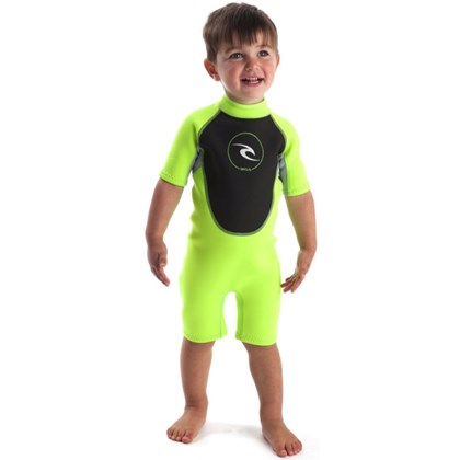 Short John Rip Curl Dawn Patrol Back Zip Infantil Green