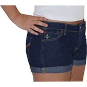 SHORT VOLCOM JEANS DALLAS FEMININO